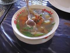 Rindlfeischsuppe