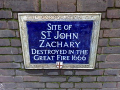 St John Zachary blue plaque