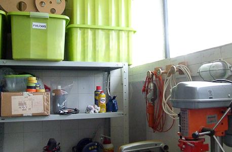 arrumação da oficina
