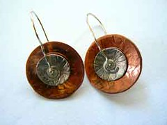 Spinner Disk Earrings #1