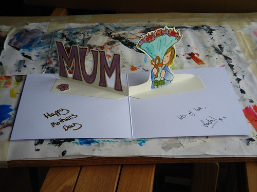 mothers day card for my mum 2010