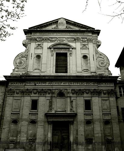 Chapelle de la Visitation (1631), François de Royers de La Valfenière (1575-1667), Avignon.