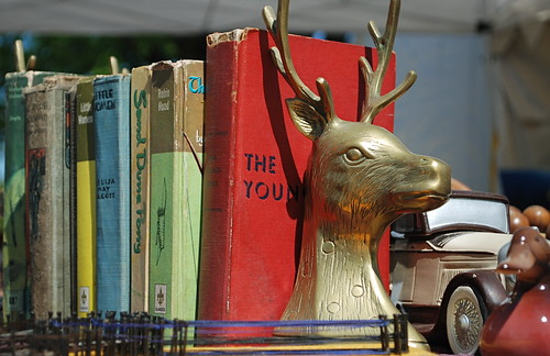 stag brass bookends