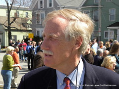 Former Maine Governor Angus King