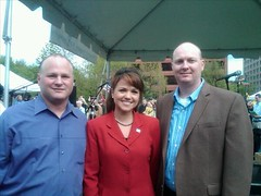 Michael Johns, U.S. Senate candidate Christine...