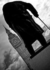 550d - London - Churchill at Big Ben London