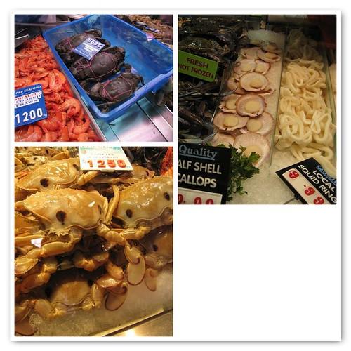 Melbourne Fish Market Mosaic