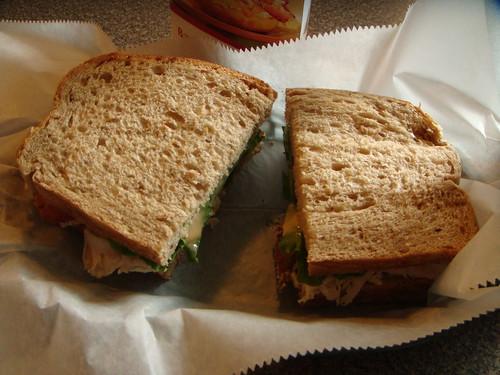 Bruegger's Bagels - Turkey Chipotle Club