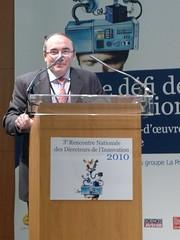 Marc Duval-Destin, Directeur de Recherche et de l'Ingénierie Avancée, Groupe Peugeot Citroën