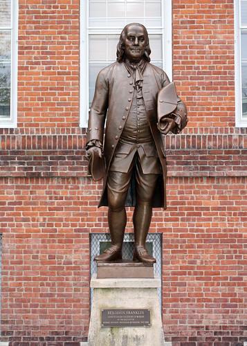 Franklin Benjamin Father Founding