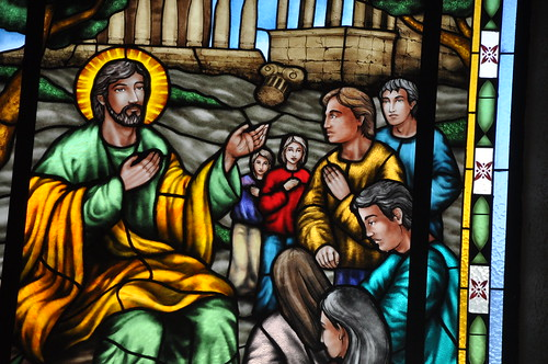 Stained Glass @ Parish Church of San Andres
