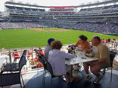Nationals Park Red Porch Restaurant