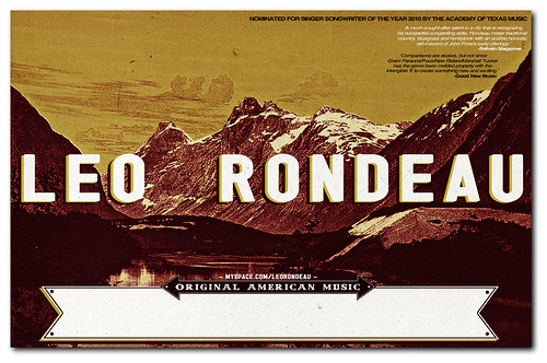 Updated Leo Rondeau Poster