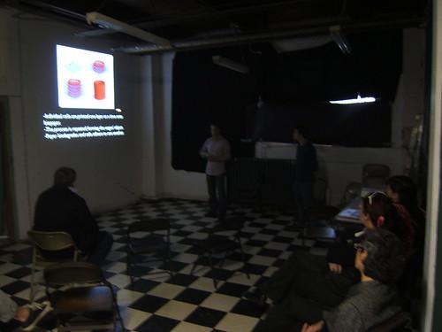 Mik Kastner + Brian Matthew presentation