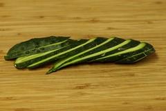 julienne cucumbers