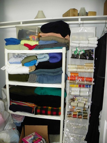 Shoe Hanger for Thread