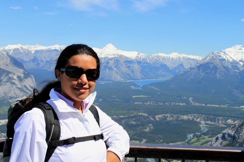 Canadian Rockies Pose