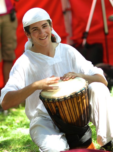 Yogapalooza drummer