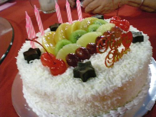 MIL's 77th birthday cake