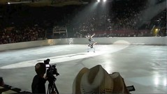 """Tessa Virtue & Scott Moir (2010 Olympic Champions & World Champions) performing """"The Goose"""" @ 2010 Calgary Stampede"""