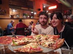 Jennie & Perry at Waldo Pizza