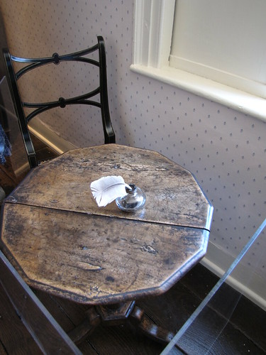 Chawton Cottage Jane Austen writing table