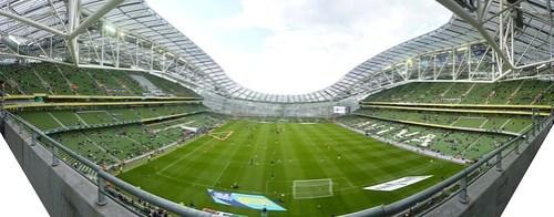 aviva stadium panoramic