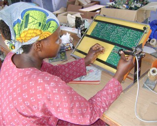 Azouassi Togbe of Benin