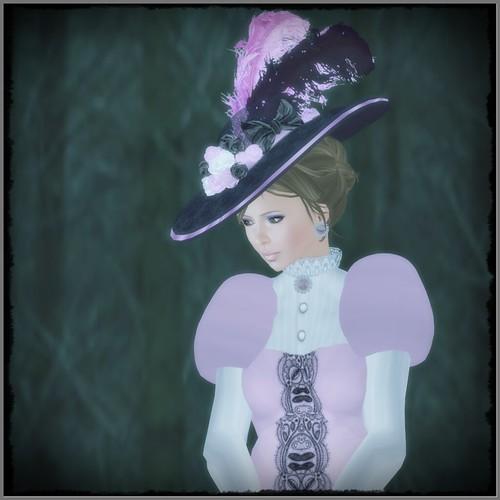 Hatpins - HDH - Lady Effie - Rose