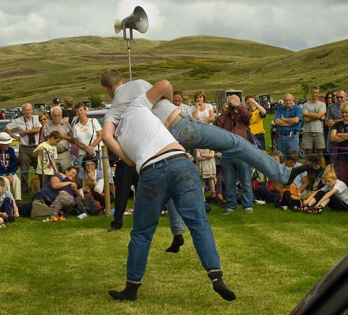 Ennerdale Show 2010- Cumbrian wrestling