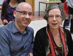 Keith Gray and Adèle Geras