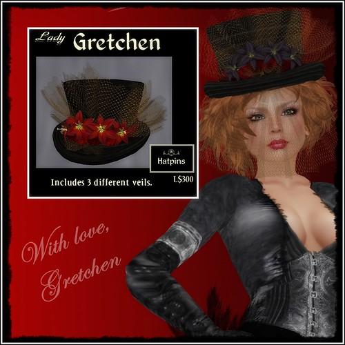 Hatpins - Lady Gretchen