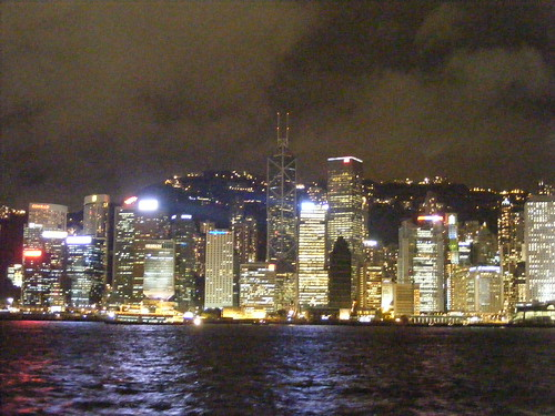 Night Time Picture from Hong Kong