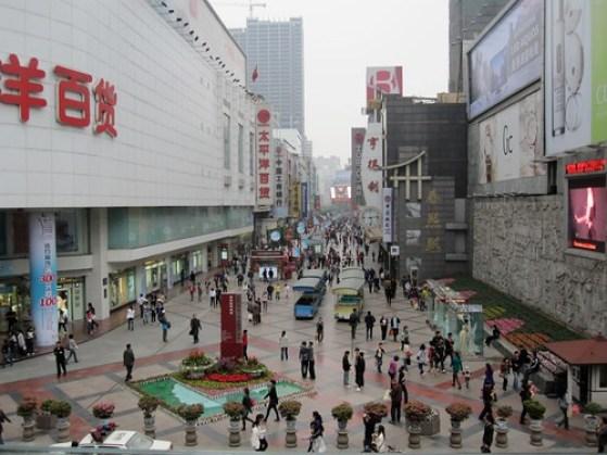 Chengdu China Shopping