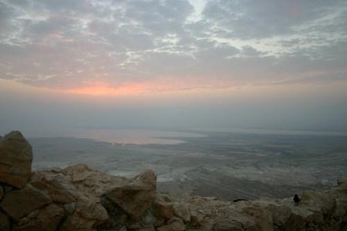 Pre-Masada sunrise