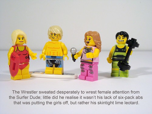 LEGO Collectable Minifigs Series 2 - Captions!