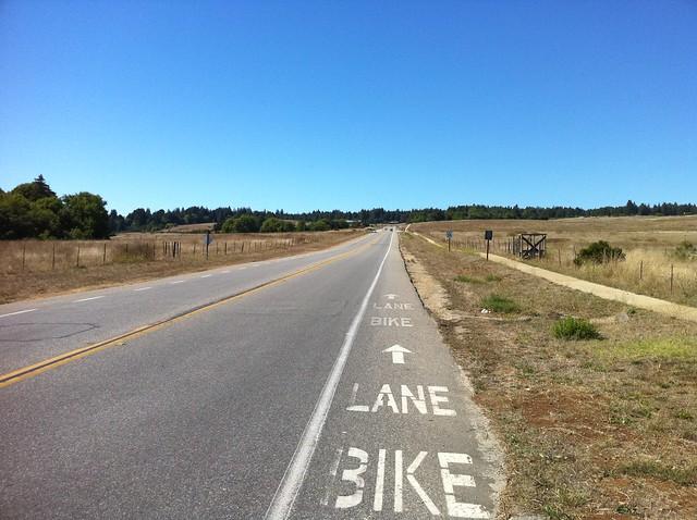 One way to ride in Santa Cruz