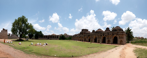 Elephant Stables at Hampi.