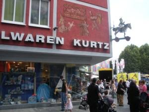 Toy store in Stuttgart