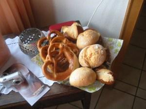 Rolls and pretzels