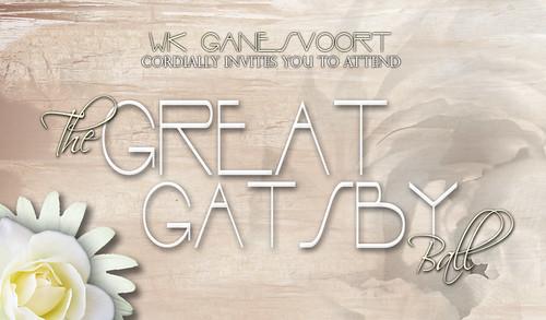 WK Ganesvoort invites us to a celebratory ball!