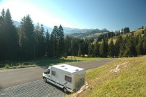 RV on the road 003