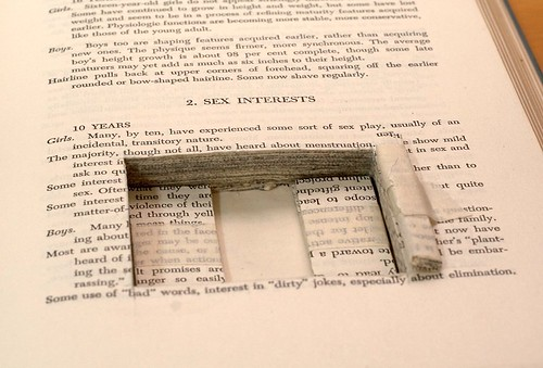 Altered book - movable parts book-5