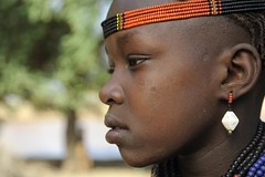 Ethiopia, Omo Valley - Atatu from the Dassanec...