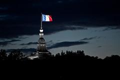 French Flag flying