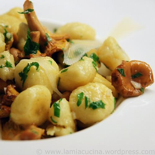 Parmesan-Gnocchi mit Pfifferlingen 0_2010 08 08_8744