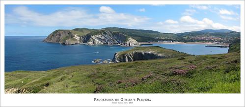 Panorámica de Gorliz y Plentzia