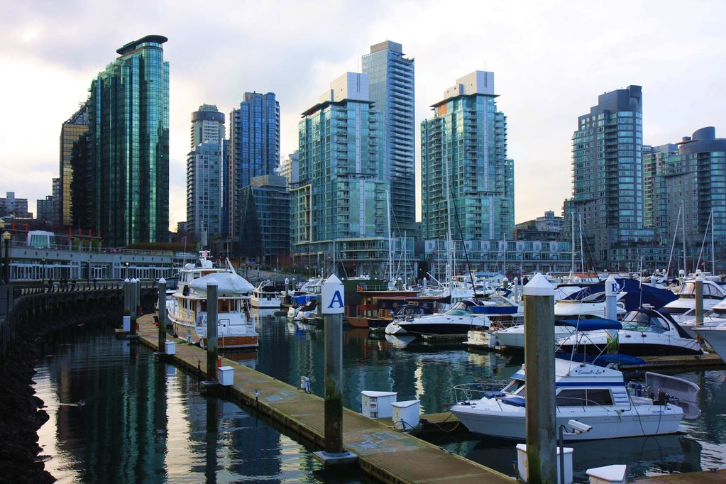 High rises at water front