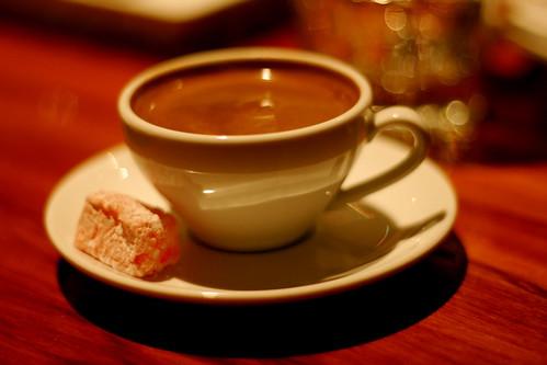 Saturday: Turkish Coffee pre Bill Bailey
