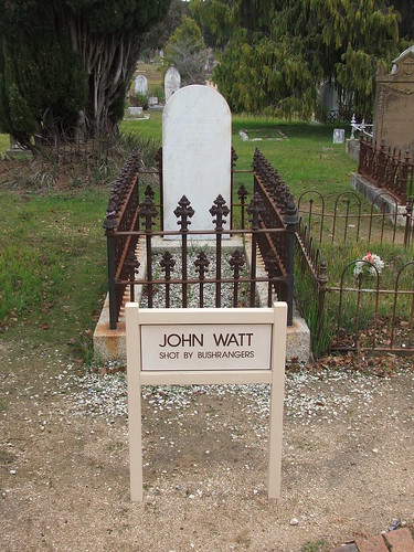 Picture from the Beechworth Cemetery In Australia